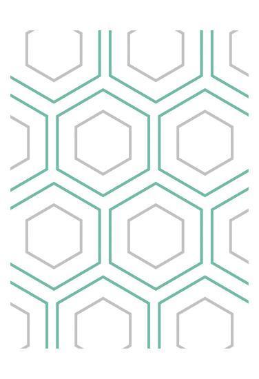 Geo In Teal-Sheldon Lewis-Art Print