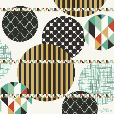Geo Patterned Dots-Elizabeth Caldwell-Giclee Print
