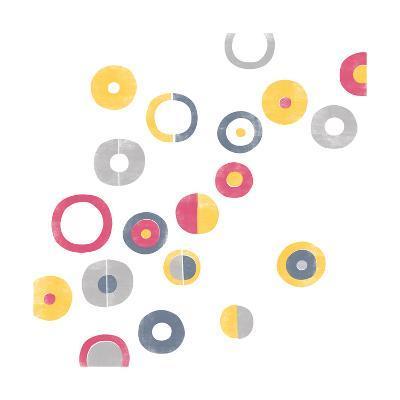 Geo Rings I-A Fresh Bunch-Art Print