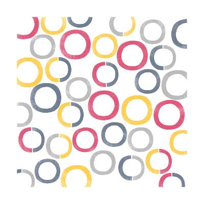 Geo Rings II-A Fresh Bunch-Art Print