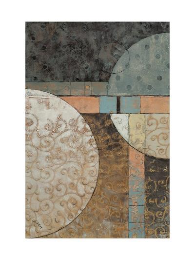 Geo Round Squared I-John Kime-Art Print