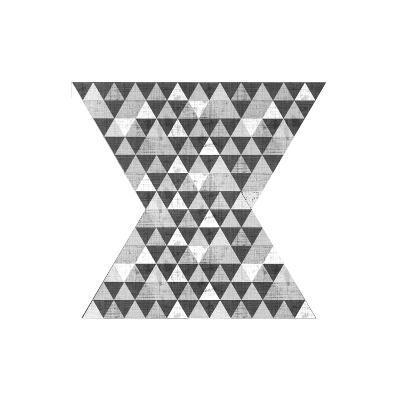 Geo Triangle 2-Kimberly Allen-Art Print