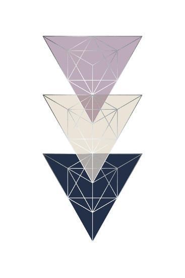 Geo Triangle SoftLuxe-Urban Epiphany-Art Print