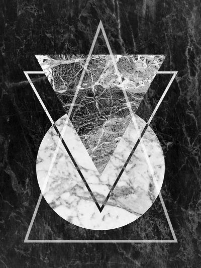 Geo Triangles-LILA X LOLA-Art Print
