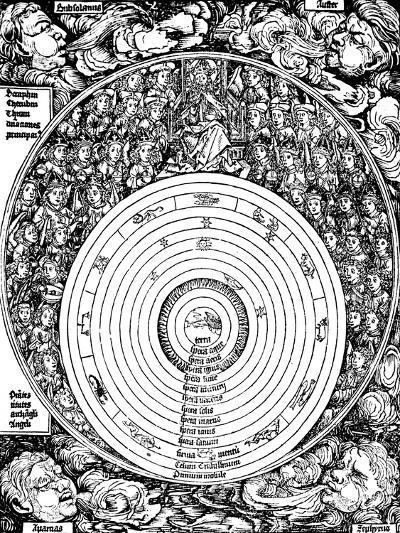 Geocentric Universe, 1493--Giclee Print