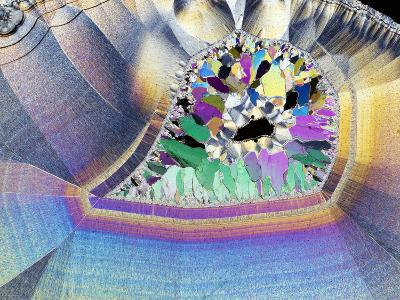 Geode In Thin Section-Dirk Wiersma-Photographic Print