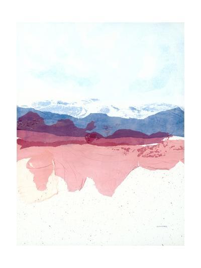 Geode Mountain-Jan Sullivan Fowler-Art Print