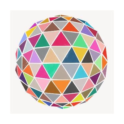 Geodesic-Garima Dhawan-Giclee Print