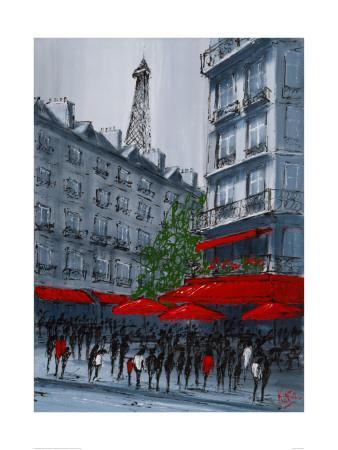 Street Café, Paris