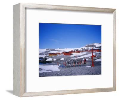 A Family Community, Argentine Esperanza Base, Antarctic Peninsula, Antarctica, Polar Regions