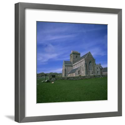 Abbey on Iona, Scotland, United Kingdom, Europe
