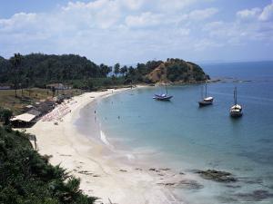 Baia (Bay) De Todos Os Santos, Near Salvador, Ilha (Island)_ Dos Frades, Bahia State, Brazil by Geoff Renner
