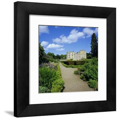 Chillingham Castle and Italian Garden, Northumberland, England, UK