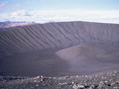 Geologically Recent Volcanic Explosive Crater, Hverfjall, Northeast Area, Iceland, Polar Regions