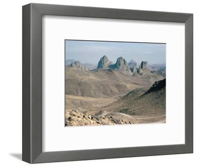 Hoggar Mountains, Algeria, North Africa, Africa
