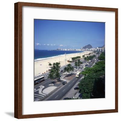 Overlooking Copacabana Beach, Rio De Janeiro, Brazil, South America