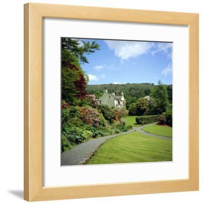 Rydal Mount, Home of the Poet William Wordsworth, Ambleside, Lake District, Cumbria, England, UK