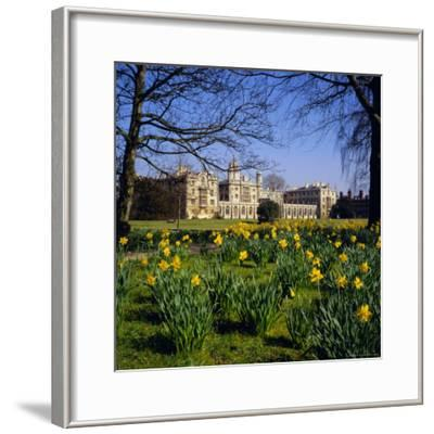 St. John's College, Cambridge, Cambridgeshire, England, UK