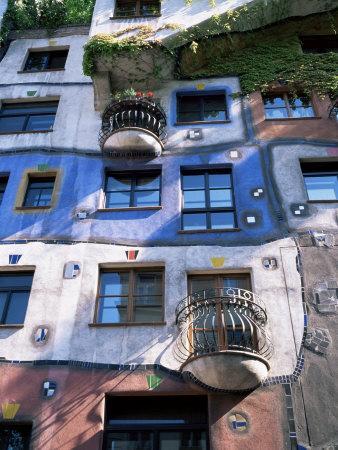 The Hundertwasser House, Vienna, Austria