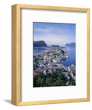 View from Aksla Over Alesund, Romsdal, Norway, Scandinavia, Europe