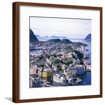 View Over Alesund, More Og Romsdal, Norway, Scandinavia, Europe