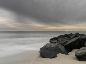 Two Ships and the Approaching Winter Storm by Geoffrey Ansel Agrons