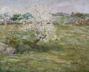 Orchard by Julian Alden Weir by Geoffrey Clements