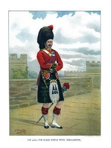 The 42nd, the Black Watch (Royal Highlander), C1890 by Geoffrey Douglas Giles