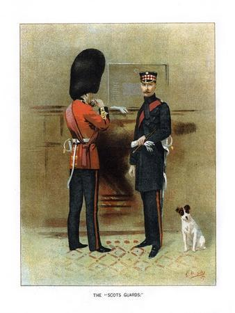 The Scots Guards, C1890