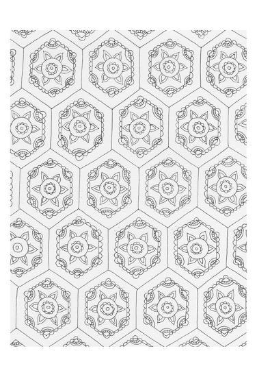 Geometric 3-Pam Varacek-Art Print