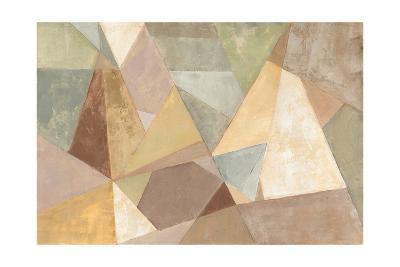 Geometric Abstract Neutral-Silvia Vassileva-Art Print