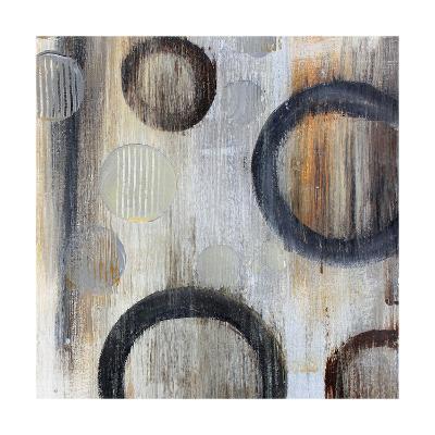 Geometric Abstraction I-Irena Orlov-Art Print