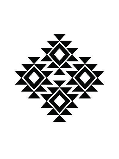 Geometric Art 11-Pop Monica-Art Print