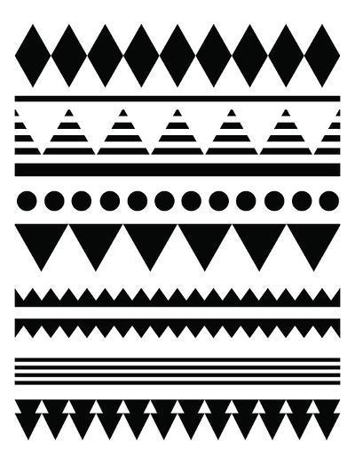 Geometric Art 12-Pop Monica-Art Print