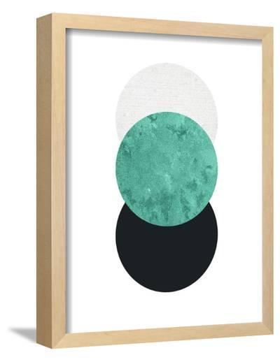 Geometric Art 24-Pop Monica-Framed Art Print