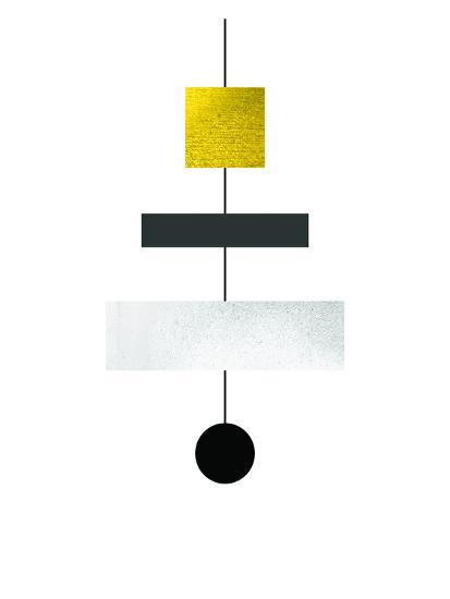 Geometric Art 30-Pop Monica-Art Print