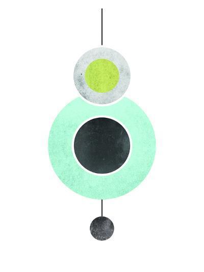 Geometric Art 40-Pop Monica-Art Print