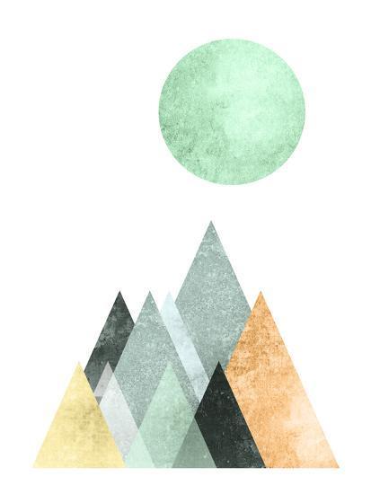 Geometric Art 41-Pop Monica-Art Print