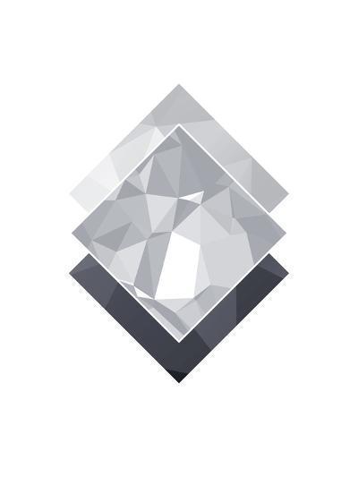 Geometric Art 45-Pop Monica-Art Print