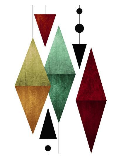 Geometric Art 50-Pop Monica-Art Print