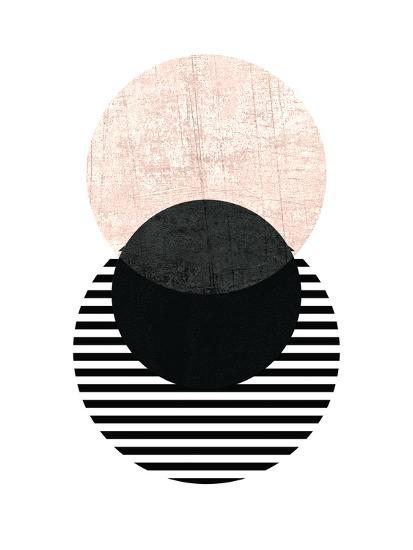 Geometric Art 5-Pop Monica-Art Print