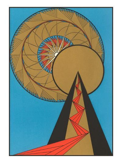 Geometric Art Deco--Art Print