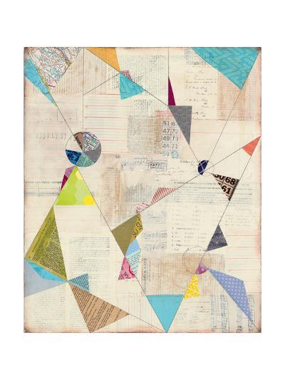Geometric Background I-Courtney Prahl-Art Print