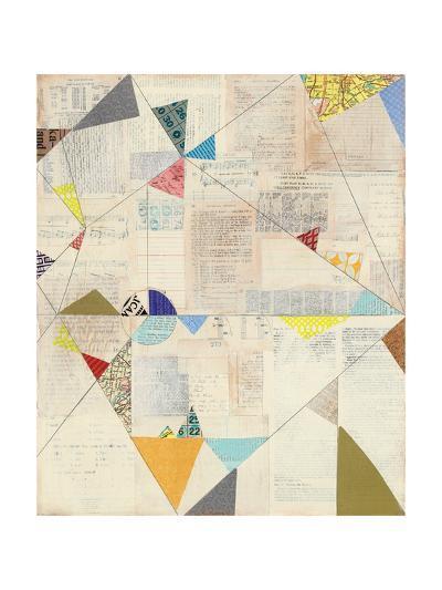 Geometric Background II v.2-Courtney Prahl-Art Print