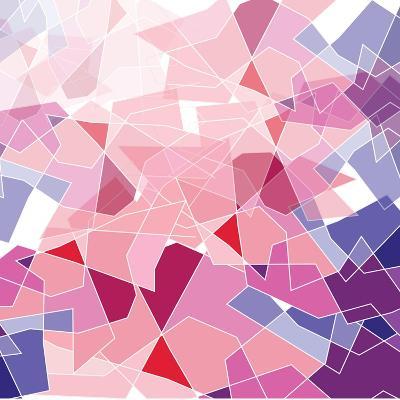 Geometric Background-ApichartMeesri-Art Print