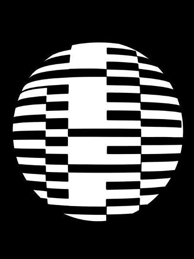 Geometric Ball I-Max Carter-Giclee Print