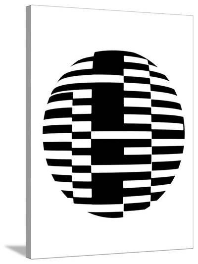 Geometric Ball II-Max Carter-Stretched Canvas Print