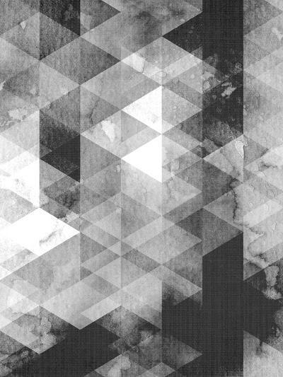 Geometric Black Grey-LILA X LOLA-Art Print