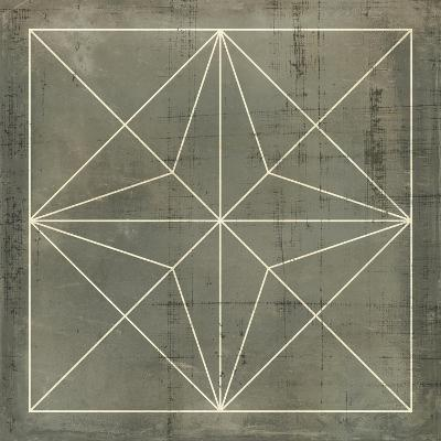 Geometric Blueprint I--Art Print