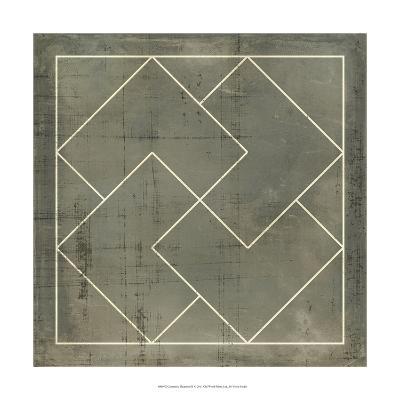 Geometric Blueprint III--Art Print